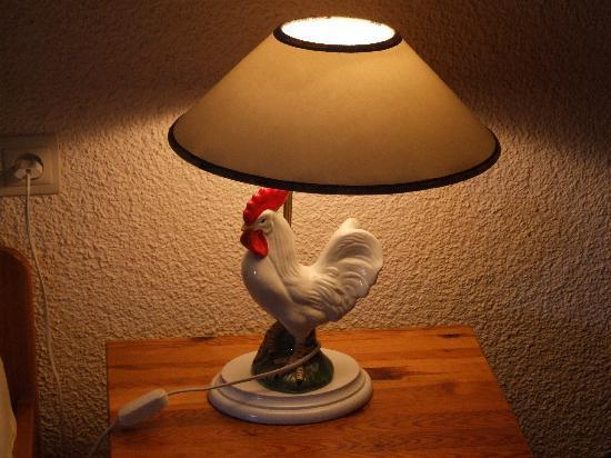 Josen Hotel Titisee- Neustadt: bedside lamp