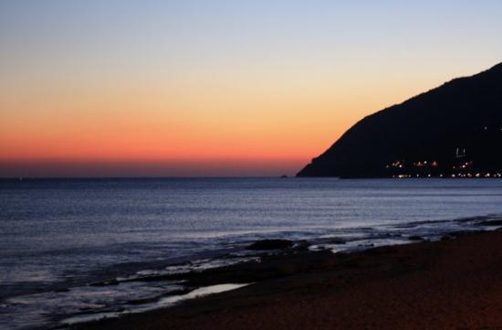 Lésbos, Grecia: Solnedgång