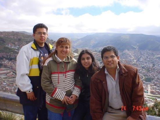 Mirador Laikakota : Panorámica de la ciudad de La Paz