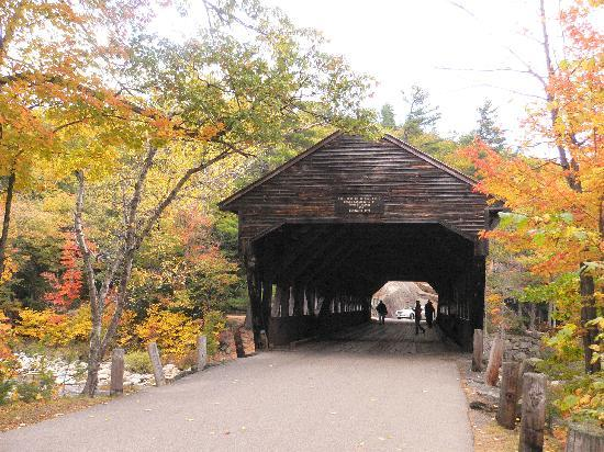 White Mountain Hotel and Resort: covered bridge in the area