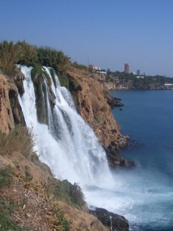 Kumkoy, Turkey: Wasserfall von Antalya