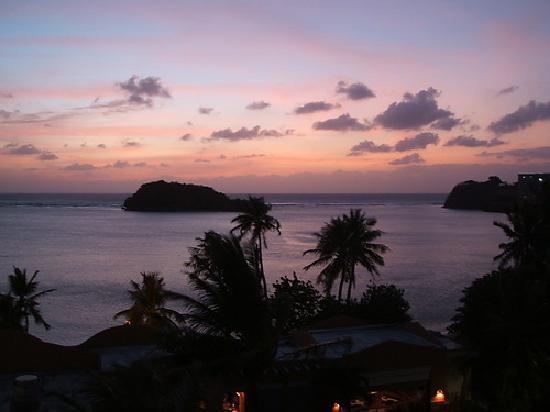 Hotel Santa Fe Guam: お部屋からサンセットが見られました
