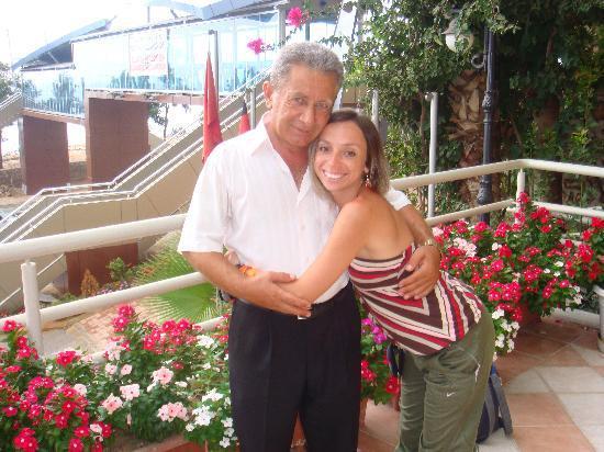 Hotel Palmera Kleopatra Beach: our favourite security man :)