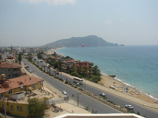 Hotel Palmera Kleopatra Beach: the view from our room