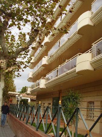 Imperial Apartments: fachada