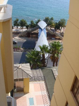 Hotel Palmera Kleopatra Beach: the crossing