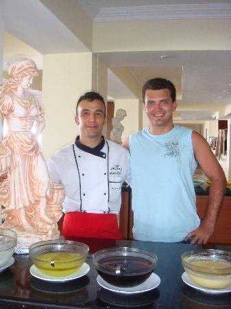 Hotel Palmera Kleopatra Beach: the chef
