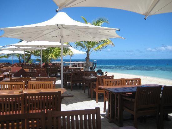 Castaway Island Fiji: The restaurant view