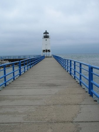 ‪‪Charlevoix‬, ميتشجان: Charlevoix South Pier Light, MI‬