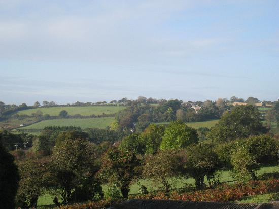 Stowford Guest House : View from bedroom