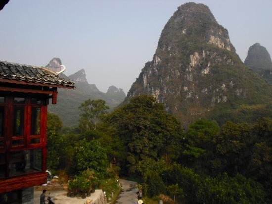 Li River Resort: view from room 207