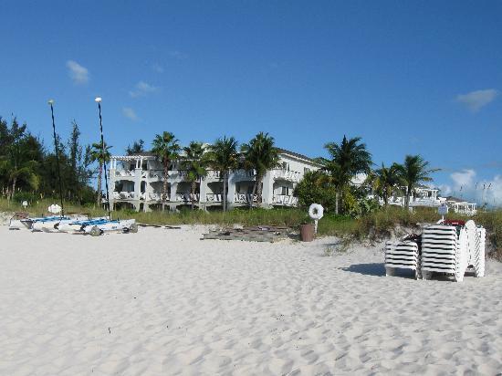 Royal West Indies Resort: Beach looking back at RWI