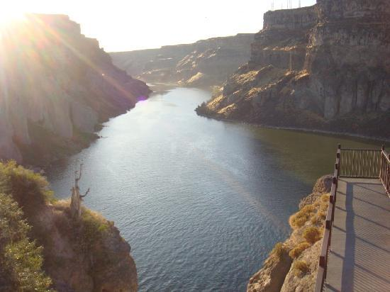 La Quinta Inn & Suites Twin Falls: Snake River gegenüber Shoshone Falls