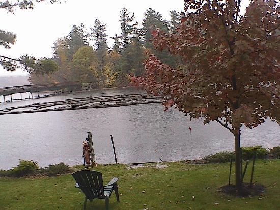 East Winthrop, ME: view from window