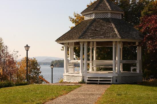 The Wolfeboro Inn: The gazebo...note NO people