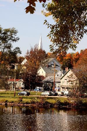 The Wolfeboro Inn: view of the town