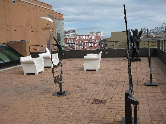 Ogden Museum of Southern Art: Rooftop
