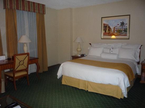 Panama Marriott Hotel La Cama Doble Increible
