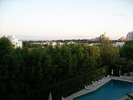 Hotel Cidadela: view from balcony