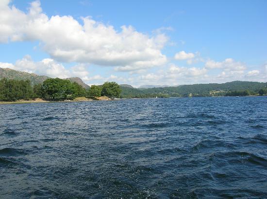 Sawrey Ground: nearby Lake Coniston