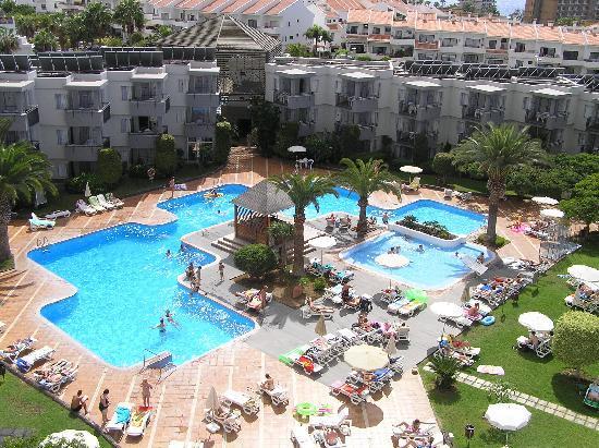 Pools - Picture of HG Tenerife Sur Apartments, Los ...
