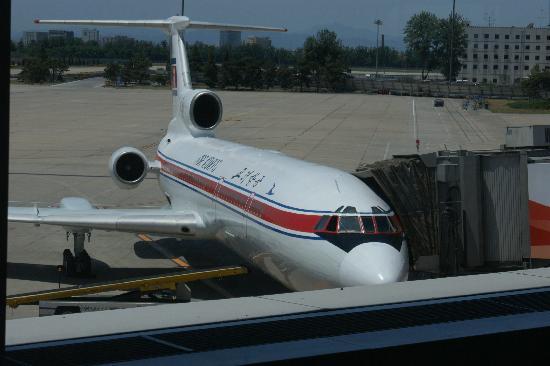 North Korea-Air Koryo Tupolev 154