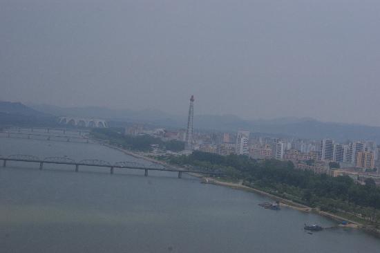 North Korea: Pjong Jang-Panorama from Hotel