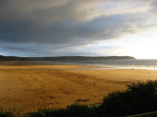 Γουλακόμπε, UK: Beach in Woolacombe