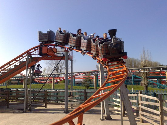 Warning Rides Closed In Winter Flamingo Land Ltd