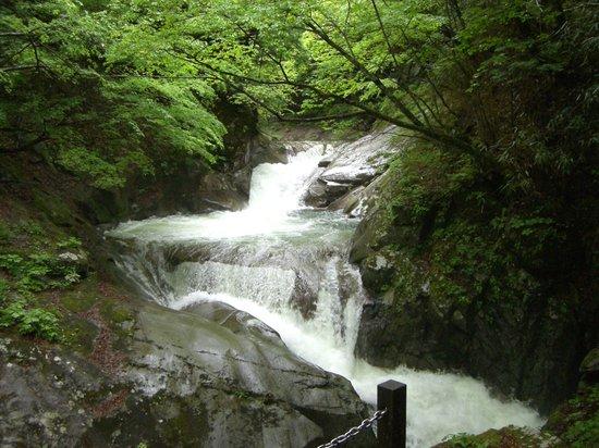 Yamanashi, Japonya: 西沢渓谷