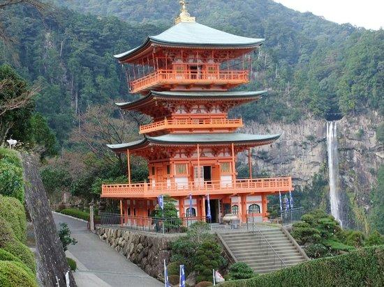 Nachikatsura-cho, Japan: 那智の滝と三重塔