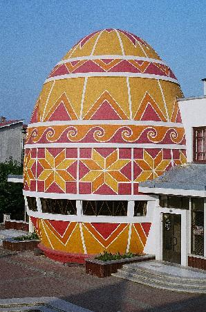 Kolomyia, Ukraine: View from our balcony