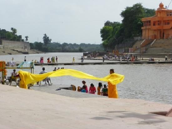 Ujjain, India: The ram ghat