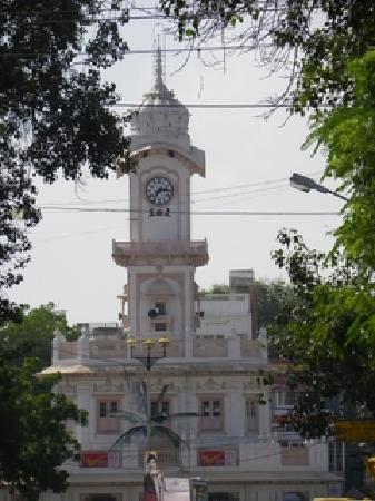 Ujjain, India: The old clock tower
