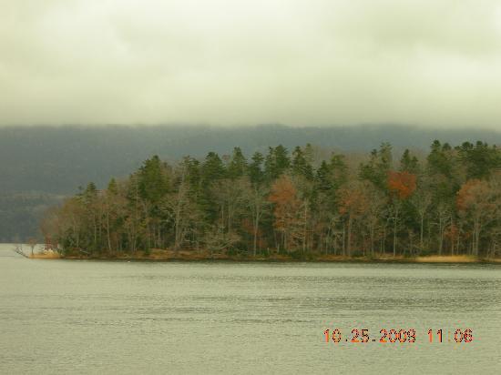 Hinanoza: Lake Akan in October