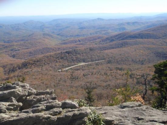 Linville, NC: Views were spectacular from the top of the mountain.