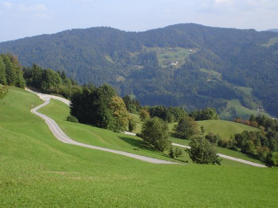Pri Lenart Hotel: Hills surrounding Pri Lenart