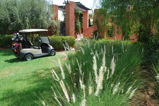 Villa Malekis : Golf Amelkis - jardin de la villa Joly Amelkis