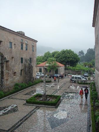 Hospederia Monasterio De Poio: entrada a la hospedería