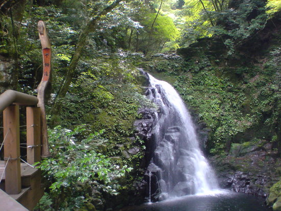 Nabari, Japan: 不動滝です。