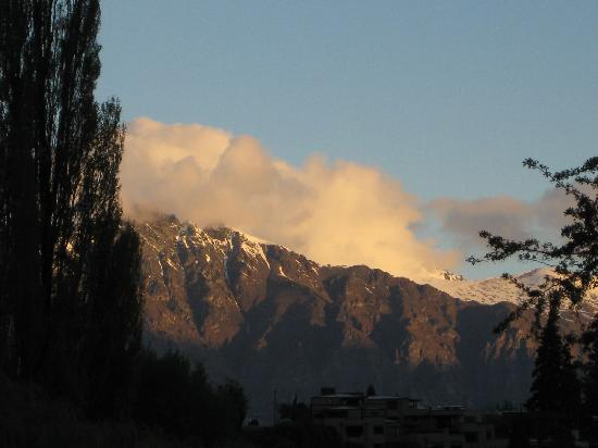 Queenstown Park Boutique Hotel: our view from the room