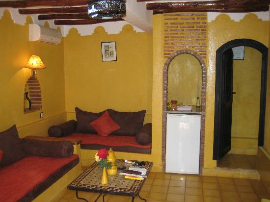Villa Tata Marie : La chambre safran