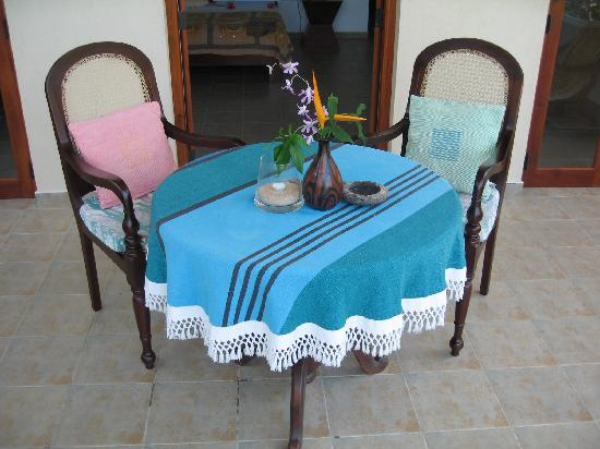 Shangri-Lanka Villa: Have your breakfast served here!