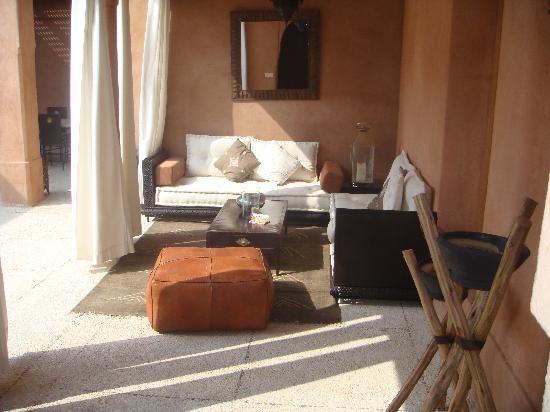 Salon Marocain Coté Patio Picture Of Villa Dakhdar Marrakech