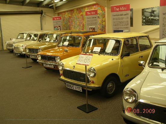 Haynes International Motor Museum: Part of the Mini 50th celebration.