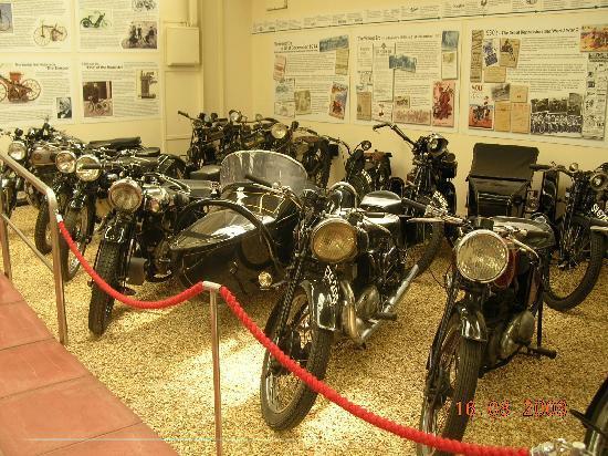 Haynes International Motor Museum: Lots of old bikes to see as well.