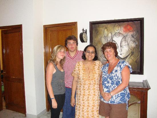 Saubhag Bed and Breakfast: Wife and Kids with Meera
