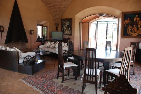 Villa Malekis : Salon principal de la villa Joly Amelkis