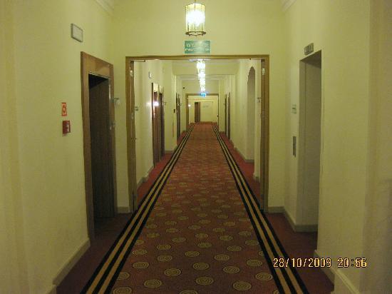 Sofitel Grand Sopot : 3rd floor corridor