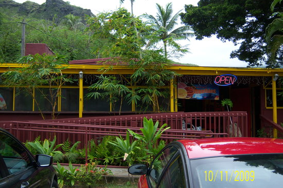 Tropic'Aina: front of the restaurant